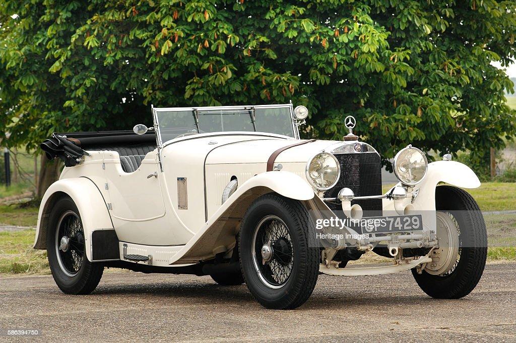 1929 Mercedes Benz SS Sport : Fotografía de noticias