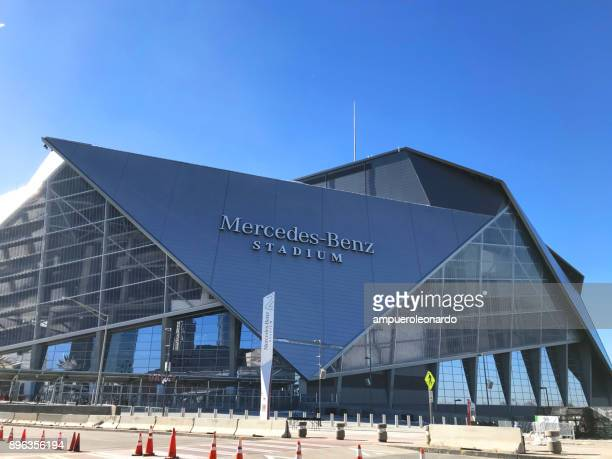 Mercedes Benz Stadium in downtown Atlanta