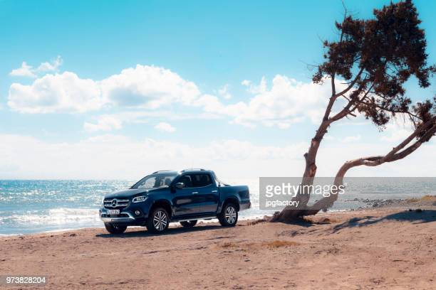 mercedes benz x-class - mercedes benz stock pictures, royalty-free photos & images