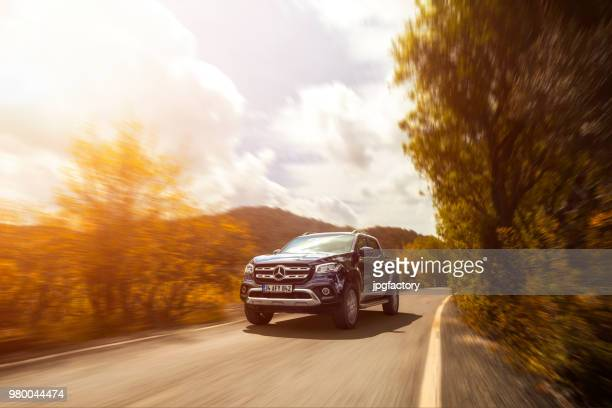mercedes benz x-class - mercedes stock photos and pictures