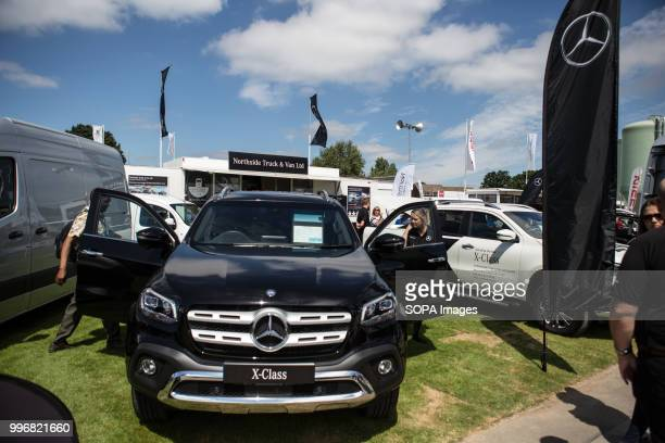 Mercedes Benz XClass seen during the Great Yorkshire Show 2018 on day one The Great Yorkshire Show is the biggest 3 days agricultural event in...