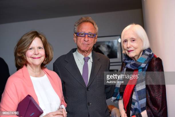 Mercedes Bograd Levin Steven Aronson and Elizabeth StrongCuevas attend Charles James Portrait Of An Unreasonable Man Fame Fashion Art By Michele...