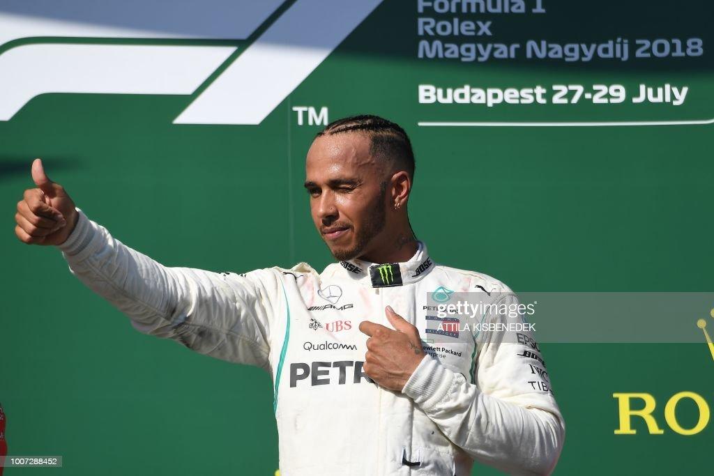 AUTO-F1-PRIX-HUN : News Photo