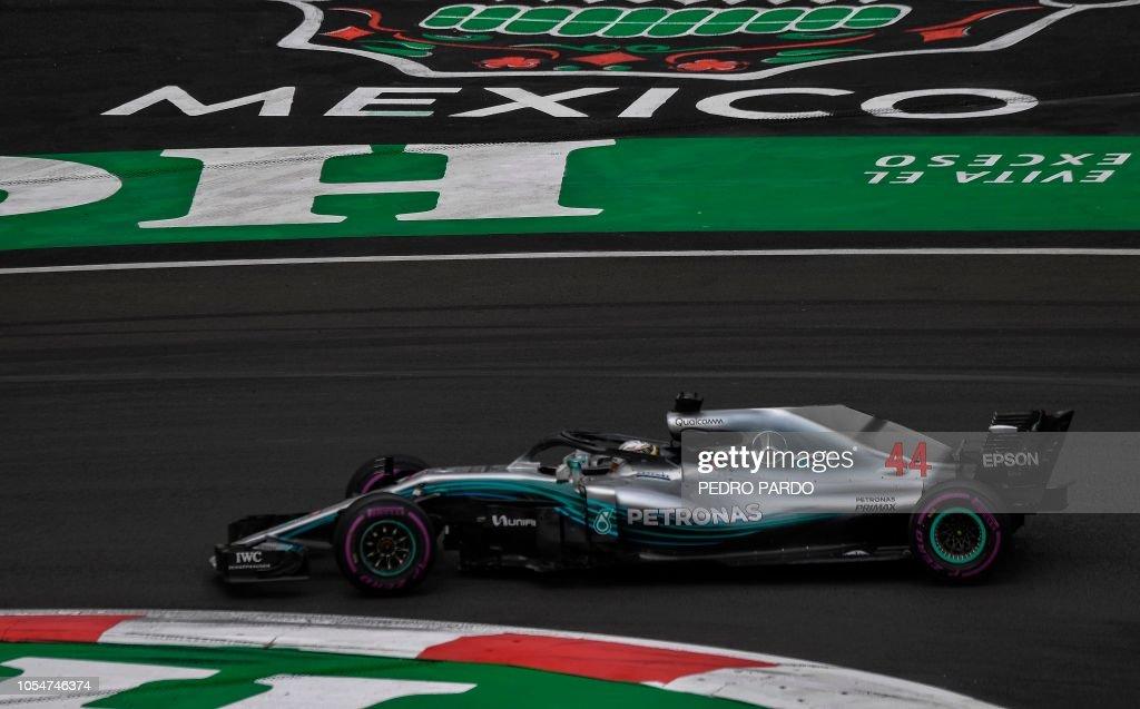 AUTO-PRIX-MEX-F1-RACE : News Photo
