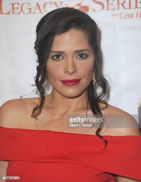 Mercedes Brito arrives for the Whispers From Children's Hearts Foundation's 3rd Legacy Charity Gala held at Casa Del Mar on March 24 2017 in Santa...