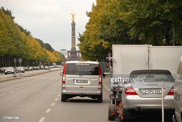 Mercedes CLKCabriolet für Dreharbeiten zum InternetMusikVideo für AutoLeasingKampagne mit J o h a n n e s H e e s t e r s und G i n a L i s a L o h f...