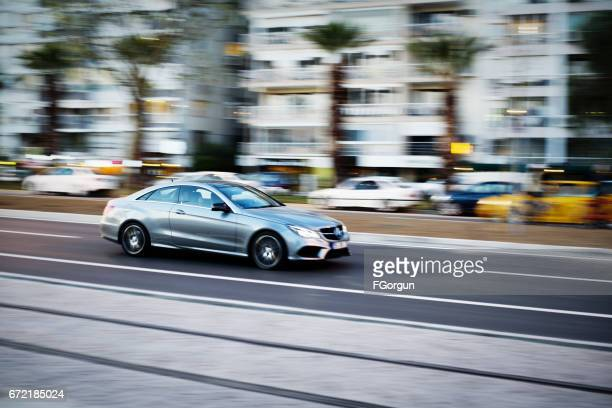 mercedes e class coupe - mercedes benz stock pictures, royalty-free photos & images
