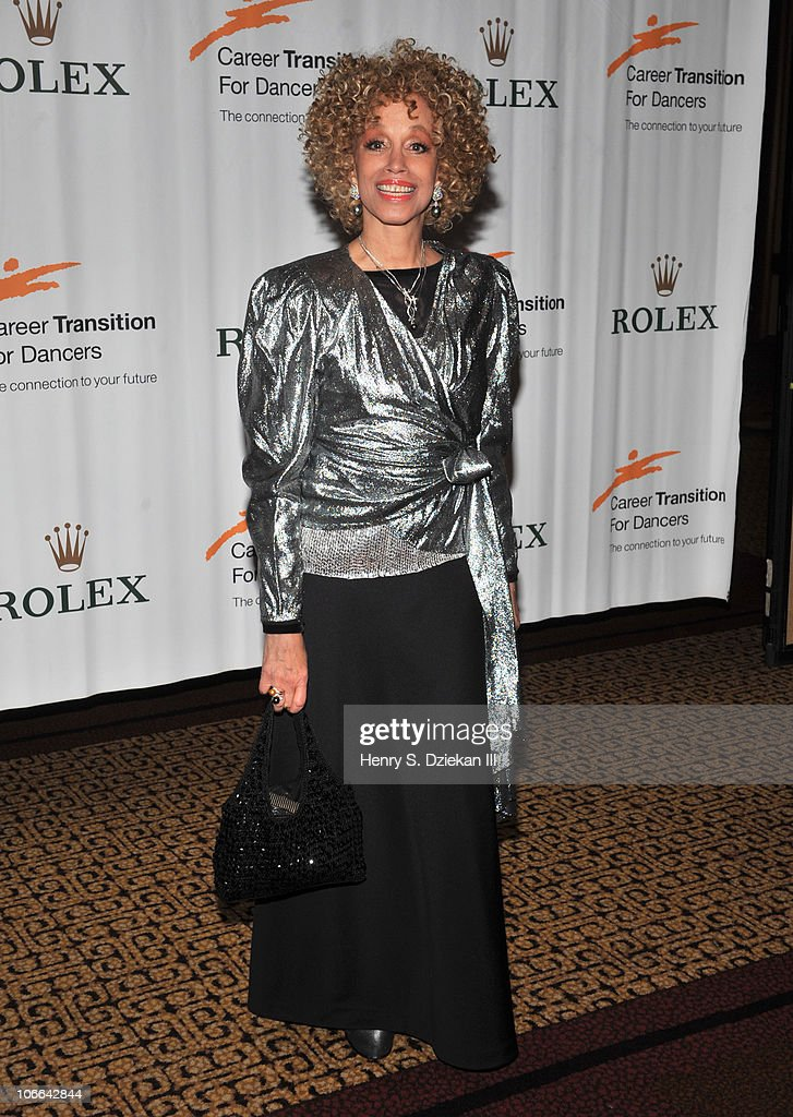 Mercedes Ellington attends the Career Transition For Dancer's 25th anniversary Silver Jubilee anniversary supper at the Hilton New York on November 8, 2010 in New York City.