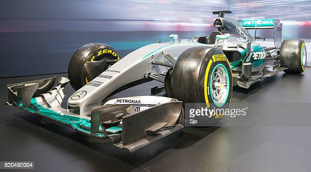 Mercedes F1 W06 Hybrid Formula 1 race car
