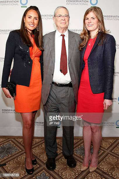 Mercedes Fernandez Tom Grimble and Liana Ryan attend the Conservation International 16th Annual New York Dinner at The Plaza Hotel on May 15 2013 in...