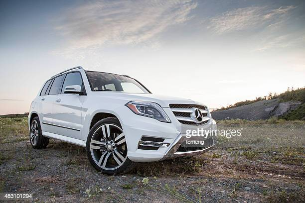 mercedes glk250 - mercedes stock photos and pictures