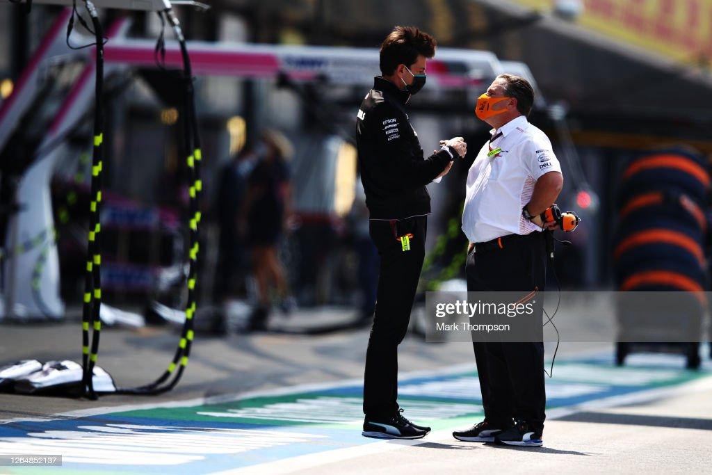 F1 70th Anniversary Grand Prix : News Photo