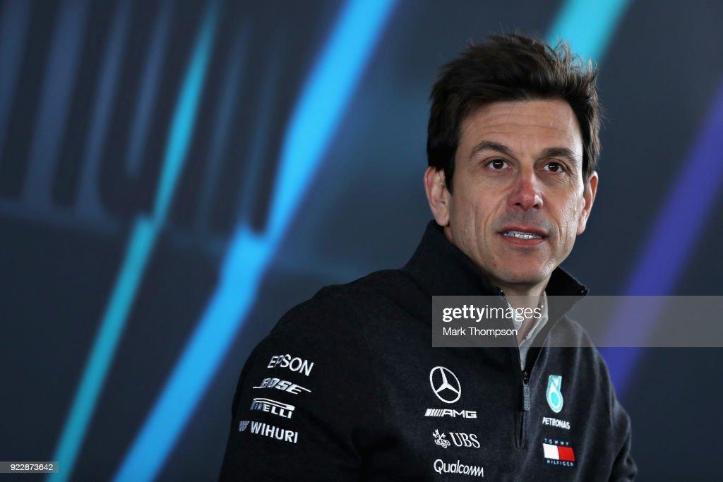 Mercedes Formula One Team Launch 2018 Car