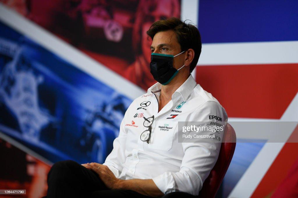 F1 70th Anniversary Grand Prix - Practice : News Photo