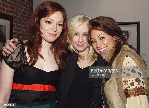 Mercedes Helnwein Shalon Goss and Diane Gaeta during Alex Prager and Mercedes Helnwein's The Book of Disquiet A Story of the Seven Deadly Sins Hosted...