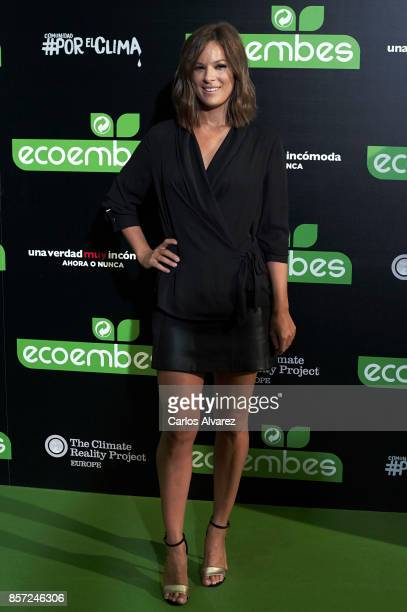 Mercedes Martin attends 'An Inconvenient Sequel Truth to Power' premiere at the Callao cinema on October 3 2017 in Madrid Spain