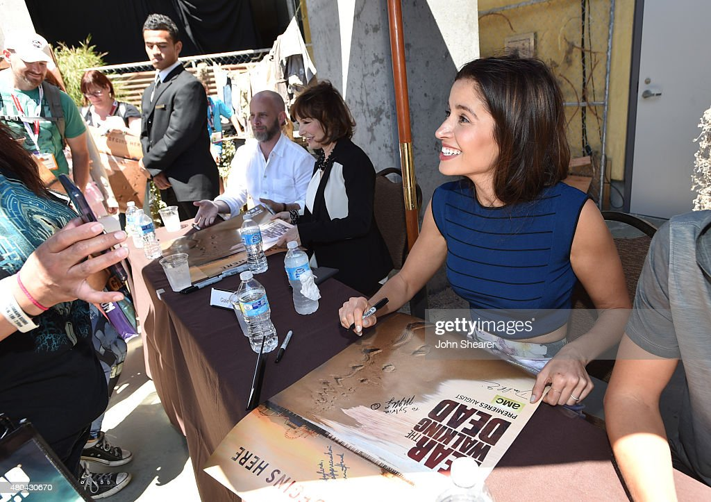 Mercedes Mason attends AMC's 'Fear The Walking Dead' during Comic-Con International 2015 at the Hilton Bayfront on July 11, 2015 in San Diego, California.
