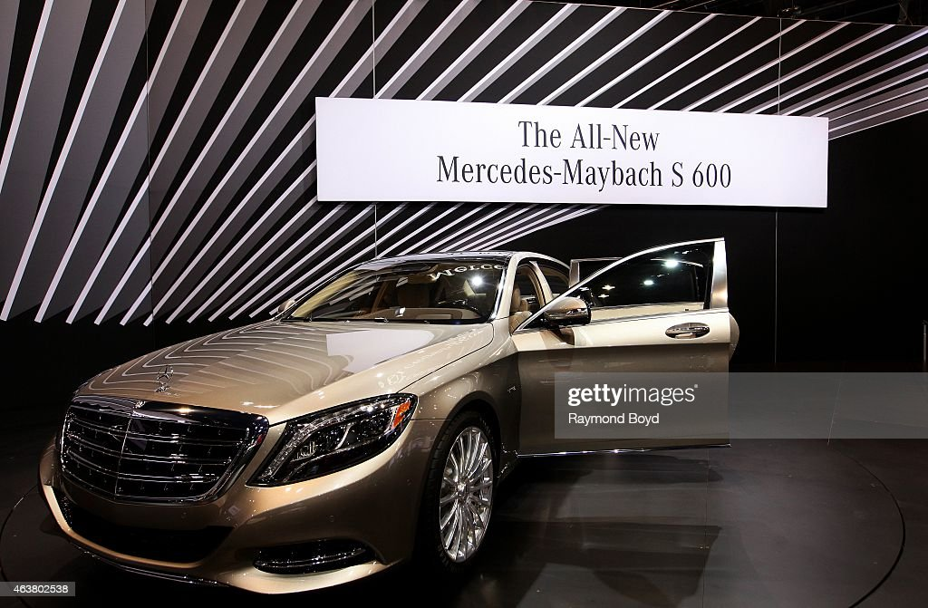 2015 Chicago Auto Show Media Preview - Day 2 : News Photo