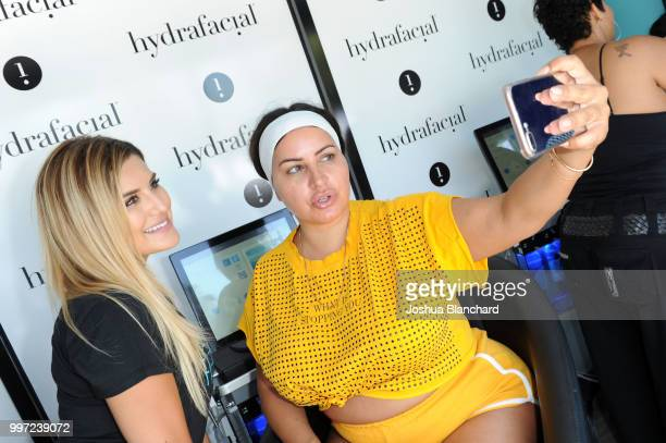 Mercedes 'MJ' Javid attends the HydraFacial World Tour Los Angeles on July 12 2018 in Venice California