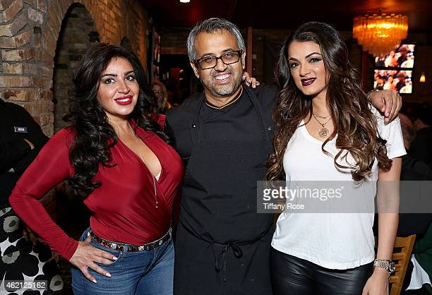 Mercedes 'MJ' Javid, Parind Vora and Golnesa 'GG' Gharachedaghi attend ChefDance 2015 Presented By Victory Ranch And Sponsored By Merrill Lynch,...