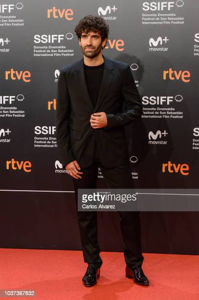 Mercedes Moran attends 'Vivir Sin Permiso' premiere during 66th San Sebastian Film Festival on September 21 2018 in San Sebastian Spain