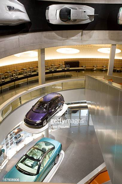 Mercedes Museum, Stuttgart, Germany, Architect Un Studio , Mercedes Museum View Over The Balcony To The 'Facination Of Tecnology' Gallery.