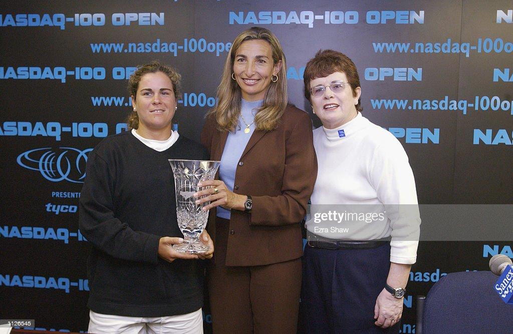 Nasdaq 100 Open X : Nachrichtenfoto