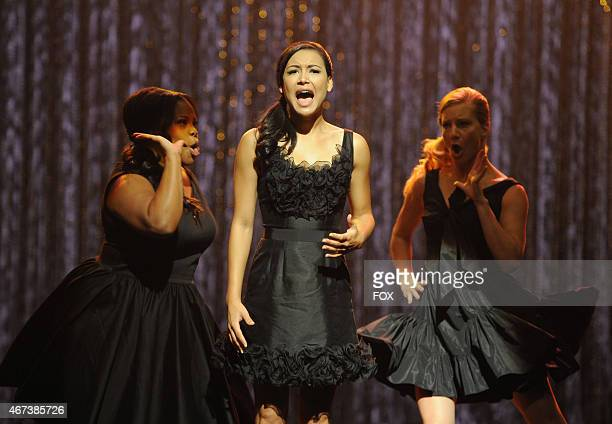 """Mercedes , Santana and Brittany perform the 300th musical performance of GLEE in the """"Mash Off"""" episode airing Tuesday, Nov. 15 (8:00-9:00 PM ET/PT..."""
