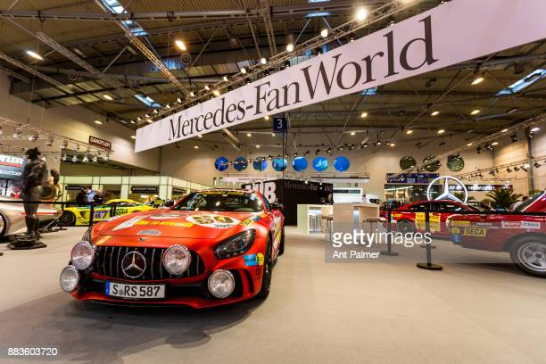Mercedes sports car on display at the Essen Motor Show on December 1 2017 in Essen Germany The Essen Motor Show is celebrating its 50th edition in...