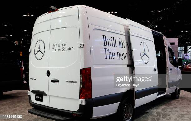 Mercedes Sprinter 3500 XD is on display at the 111th Annual Chicago Auto Show at McCormick Place in Chicago Illinois on February 8 2019