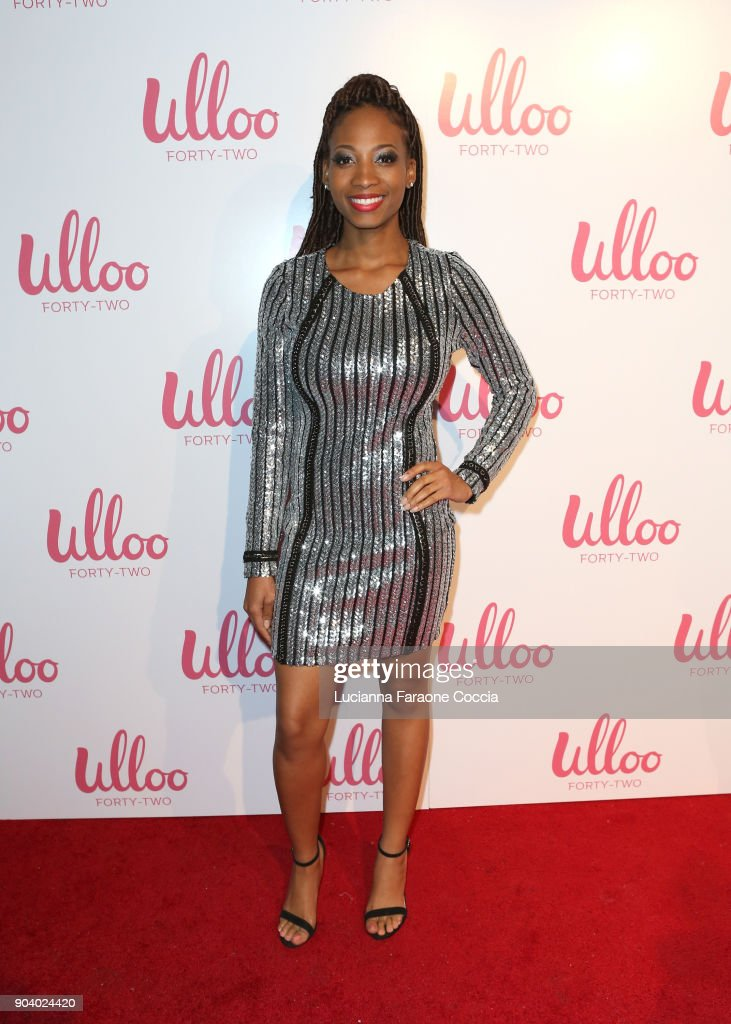 Mercedes Young attends Ulloo 42 Launch Party on January 11, 2018 in Los Angeles, California.
