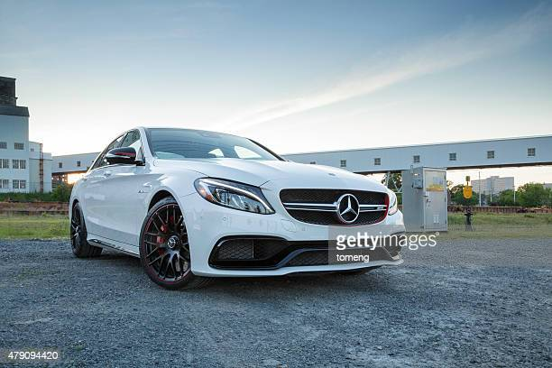 mercedes-amg c63 s - mercedes benz stock photos and pictures