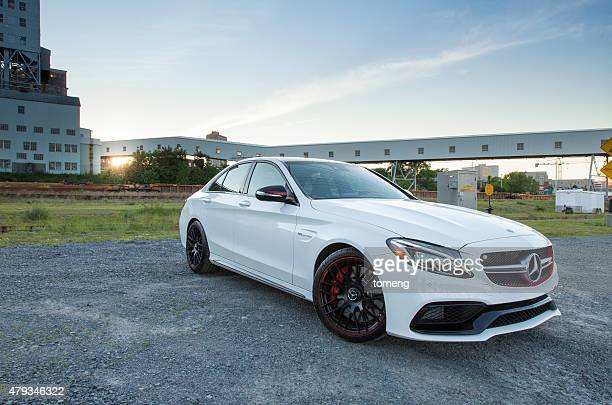 mercedes-amg c63 s - mercedes stock photos and pictures