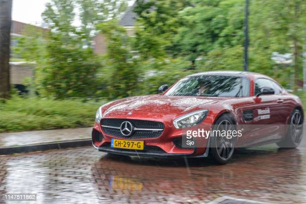 Mercedes-AMG GT coupe sports car