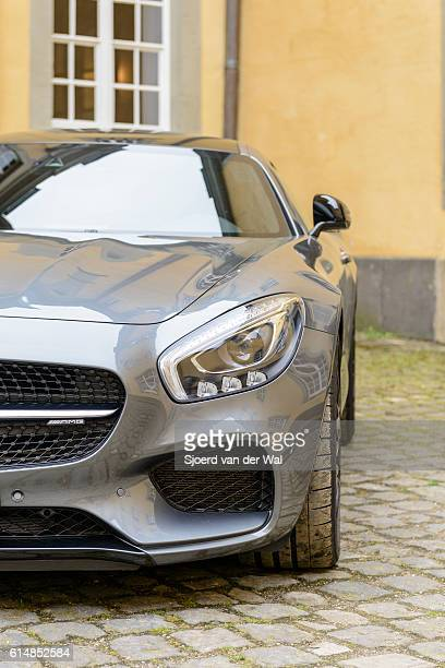 """mercedes-amg gt coupe sports car - """"sjoerd van der wal"""" stock pictures, royalty-free photos & images"""