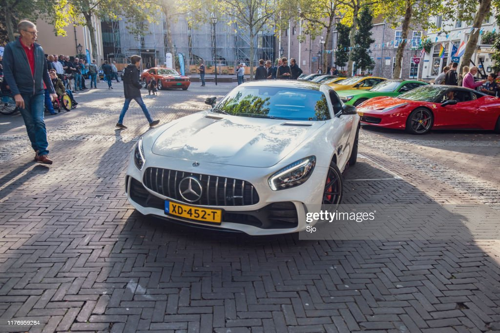 Mercedes-AMG GT R carro esportivo : Foto de stock