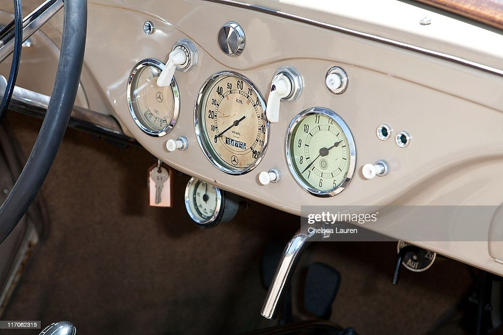 A Mercedes-Benz 170H is showcased during the Mercedes-Benz Rear Engine Drive on May 19, 2010 in Laguna Beach, California.