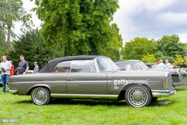 Mercedes-Benz 220 SE (W111) convertible classic luxury car