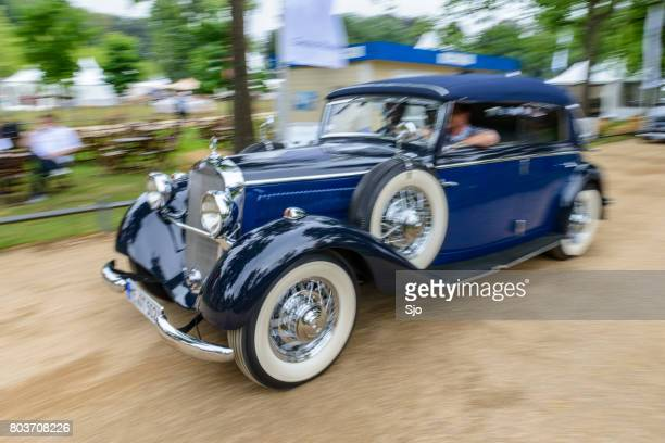 """mercedes-benz 290 cabriolet b classic car - """"sjoerd van der wal"""" or """"sjo"""" stock pictures, royalty-free photos & images"""