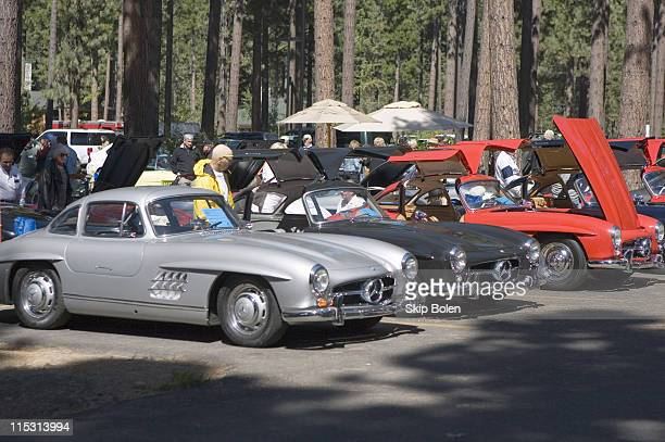 MercedesBenz 300SL Gullwing and Roadster Coupes from 1954 to 1963