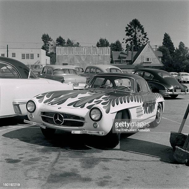 MercedesBenz 300SL Gullwing Automotive painter and artist Von Dutch created this wild flamed paint job for owner Earl Bruce—in turn creating an icon...