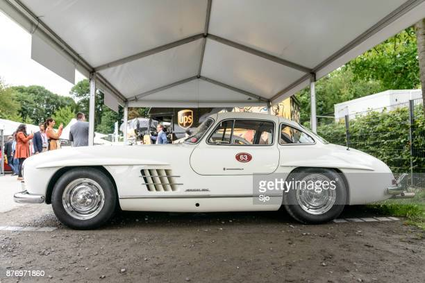 Mercedes-Benz 300SL Gullwing convertible classic sports car
