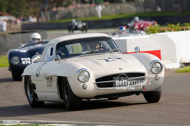 MercedesBenz 300SL 'Gullwing' during the Freddie March Memorial Trophy race