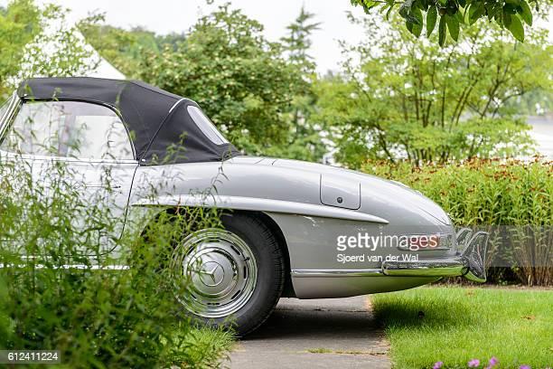 """mercedes-benz 300sl roadster convertible classic sports car - """"sjoerd van der wal"""" fotografías e imágenes de stock"""