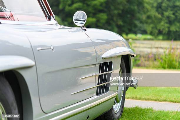 mercedes-benz 300sl roadster convertible classic sports car - mercedes benz 300sl gullwing stock photos and pictures
