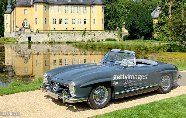 mercedes-benz 300sl roadster - mercedes benz 300sl stock photos and pictures