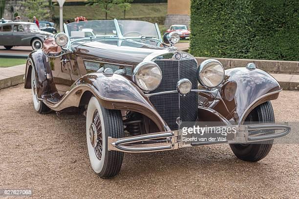 """mercedes-benz 500k luxury roadster - """"sjoerd van der wal"""" stock pictures, royalty-free photos & images"""