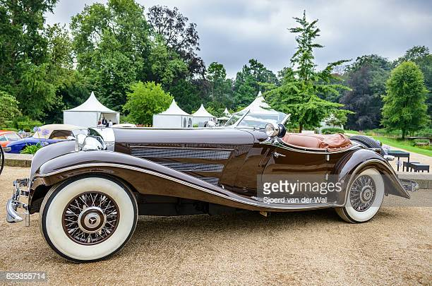 """mercedes-benz 500k luxus roadster - """"sjoerd van der wal"""" photos et images de collection"""