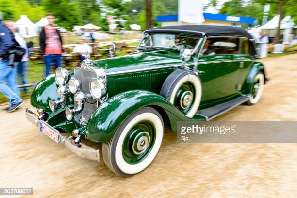 Mercedes-Benz 540K Cabriolet B driving by