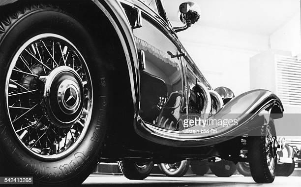 MercedesBenz Achtzylinder LimousineSeitenansicht von unten 1937